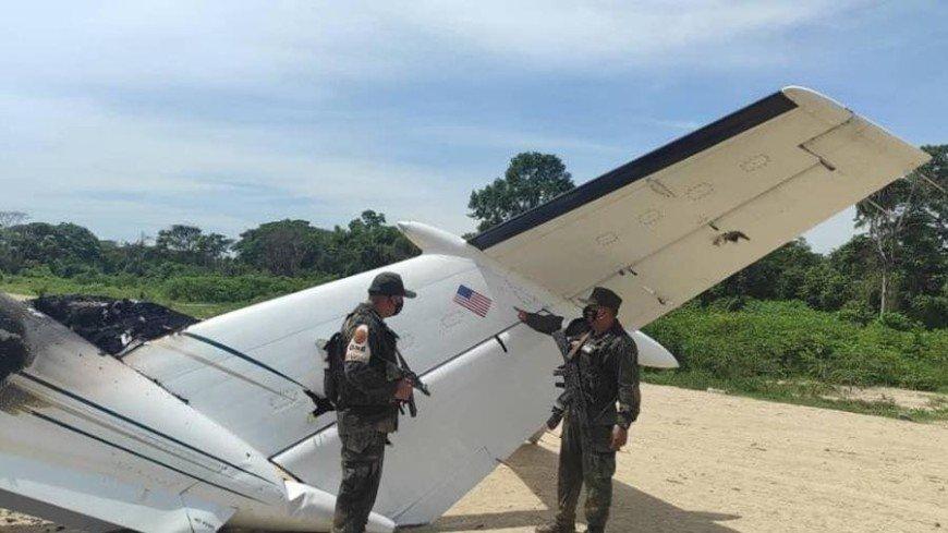 Самолет американских наркоторговцев сбили в Венесуэле
