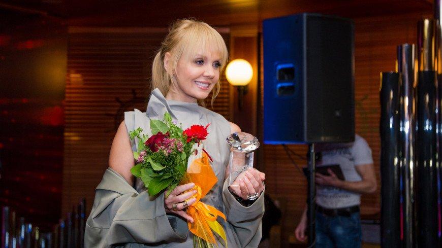 Певица Валерия на вручении премии Прорыв года 2017