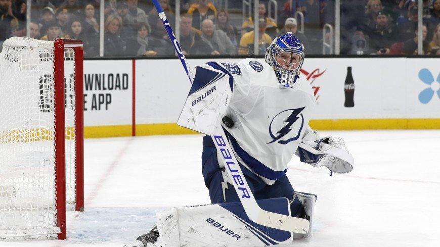 НХЛ: Василевский – первый вратарь, выигравший 18 матчей за один плей-офф