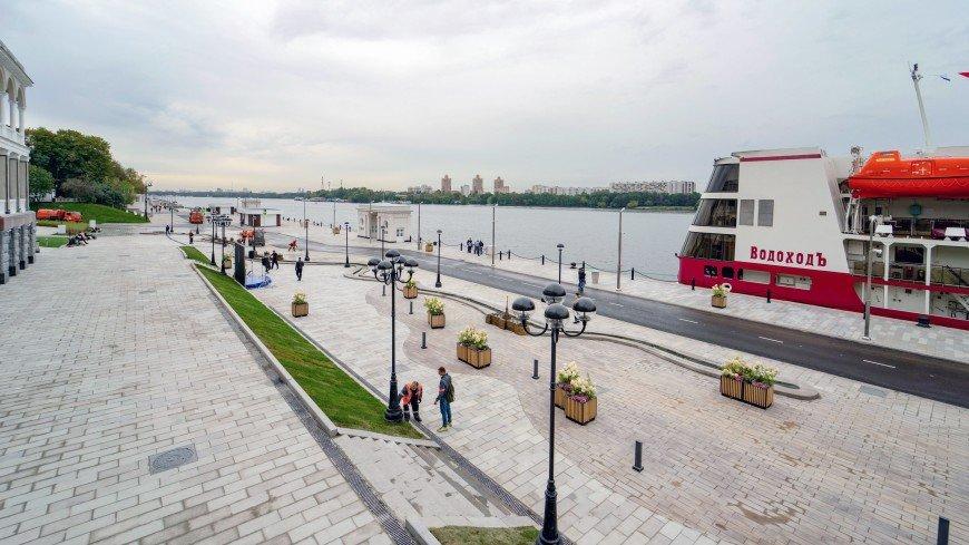 Северный речной вокзал открыли после реконструкции в Москве