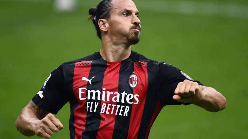 «Милан» обыграл «Болонью», Ибрагимович забил в 23-м сезоне подряд