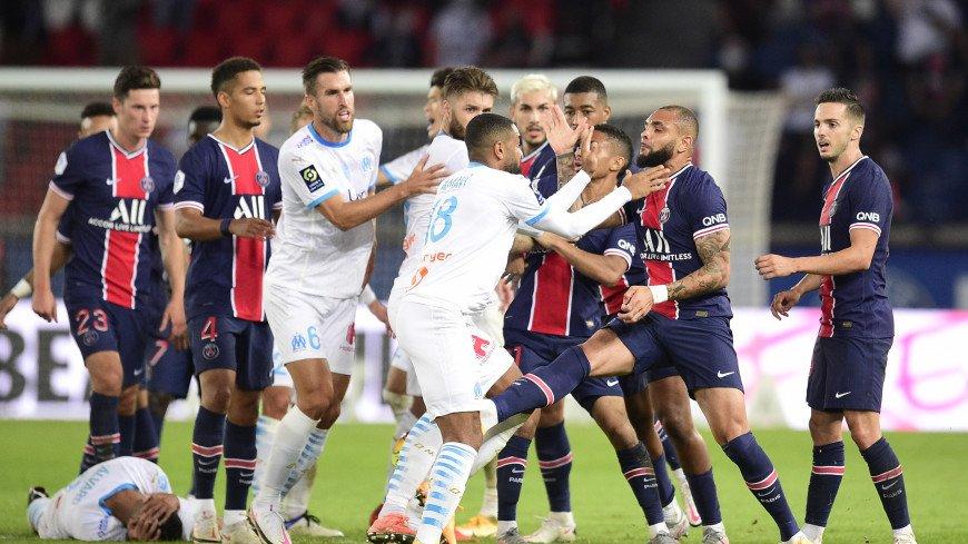 ПСЖ проиграл «Марселю», судья удалил Неймара и еще четверых игроков