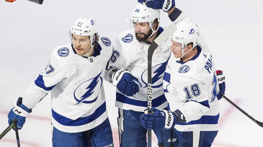 Плей-офф НХЛ: «Тампа» разгромила «Айлендерс», Кучеров набрал два очка