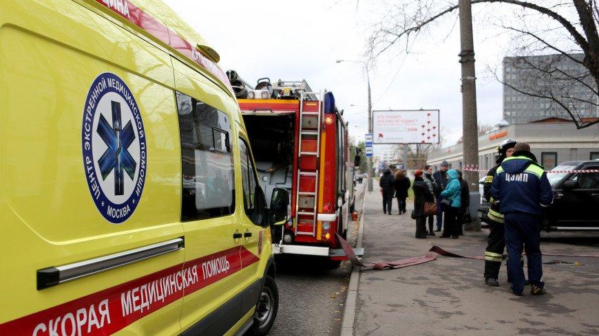 Три человека погибли при пожаре в московской девятиэтажке