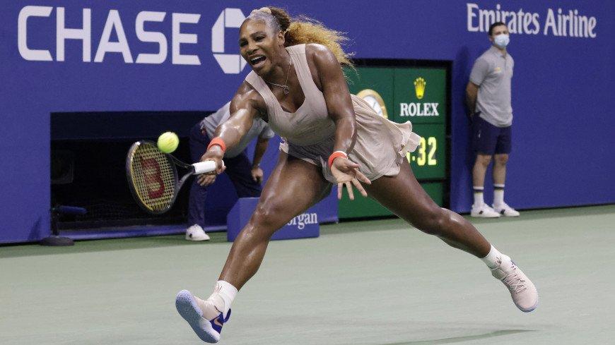 Серена Уильямс из-за травмы снялась с Открытого чемпионата Франции