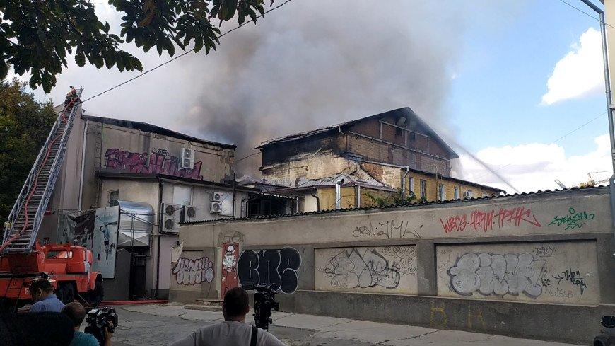 Додон: Национальную филармонию после пожара придется отстраивать с нуля