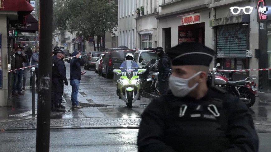 Один из подозреваемых в нападении на пешеходов в Париже признался в содеянном