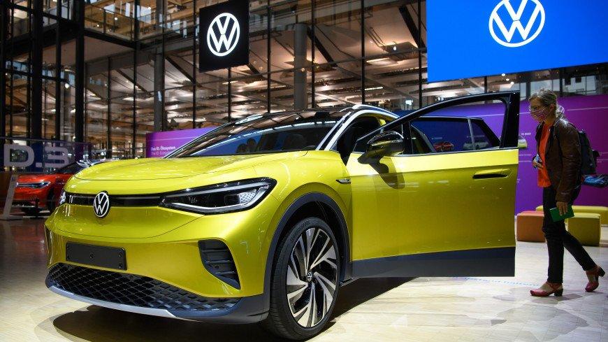 Volkswagen показал свой первый полностью электрический внедорожник