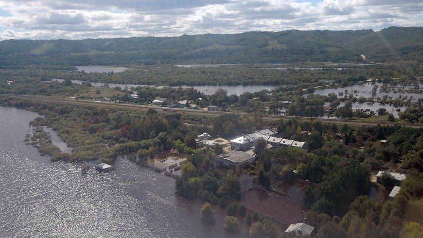 Уровень Амура в Хабаровске превысил опасную отметку в шесть метров