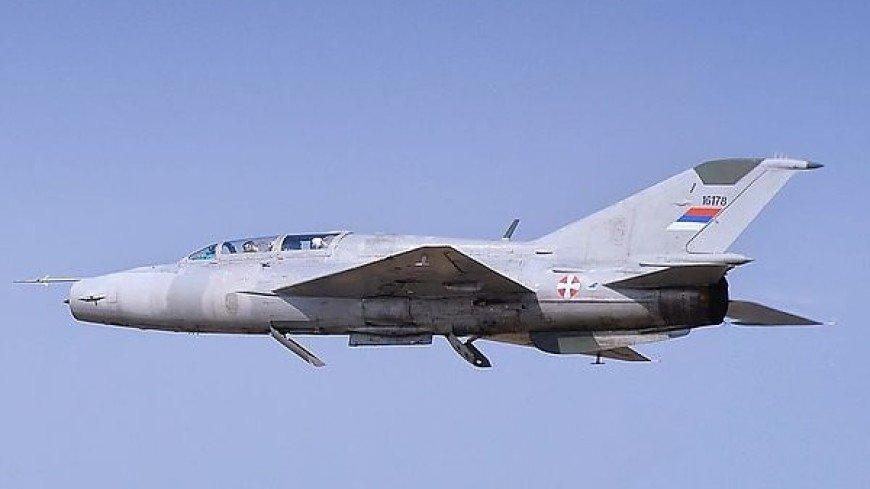 В Сербии разбился МиГ-21: оба пилота погибли