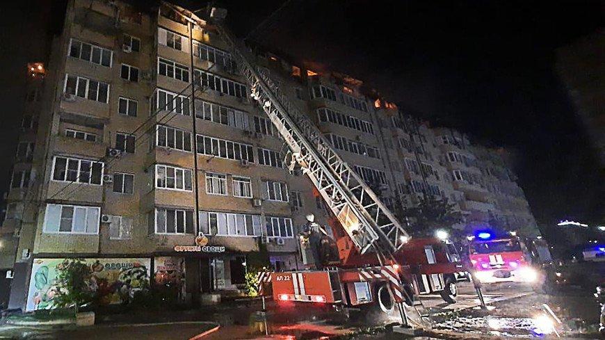Пожар в доме в Краснодаре могло вызвать короткое замыкание