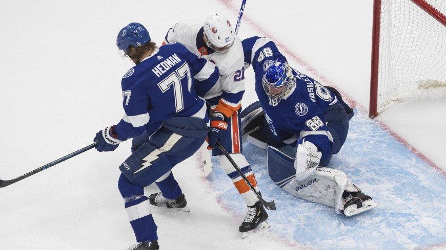 «Тампа» проиграла «Нью-Йорк Айлендерс» в пятом матче плей-офф НХЛ