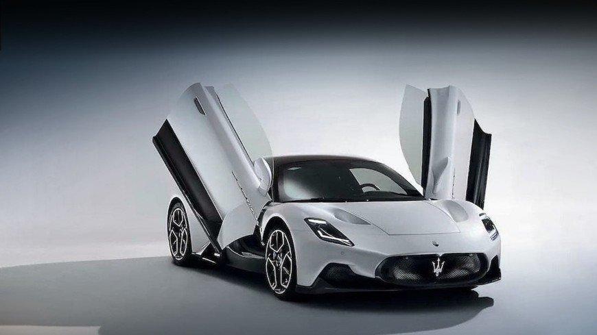 Maserati представила свой новый суперкар с «крыльями бабочки»