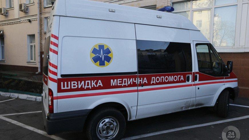 """Скриншот:  """"«Мир24»"""":http://mir24.tv/, скорая украина, скорая, скорая киев, скорая помощь, машина скорой помощи"""