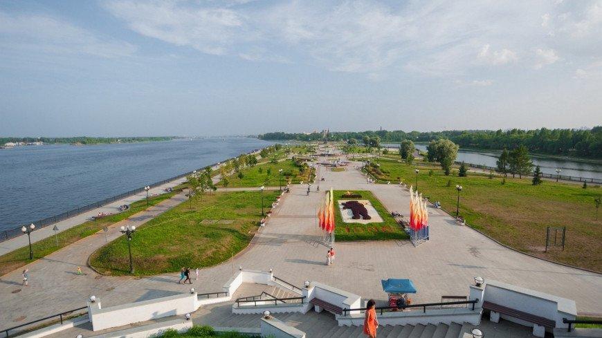 Вид на Волгу со стороны города Ярославль ,Ярославль, Волга, река, ,Ярославль, Волга, река,