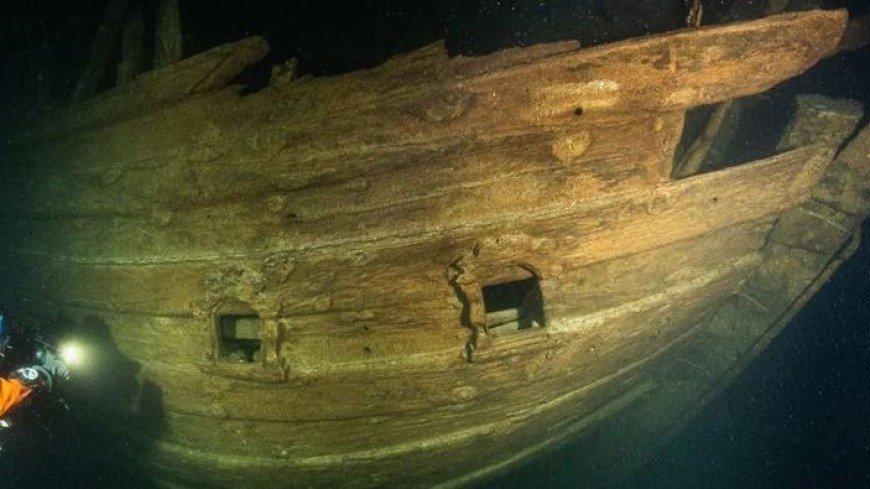 На дне Балтийского моря нашли неповрежденный корабль XVII века