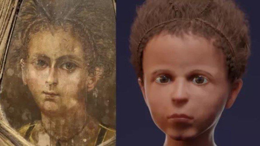 Лицо древнеегипетской мумии восстановили благодаря сканированию