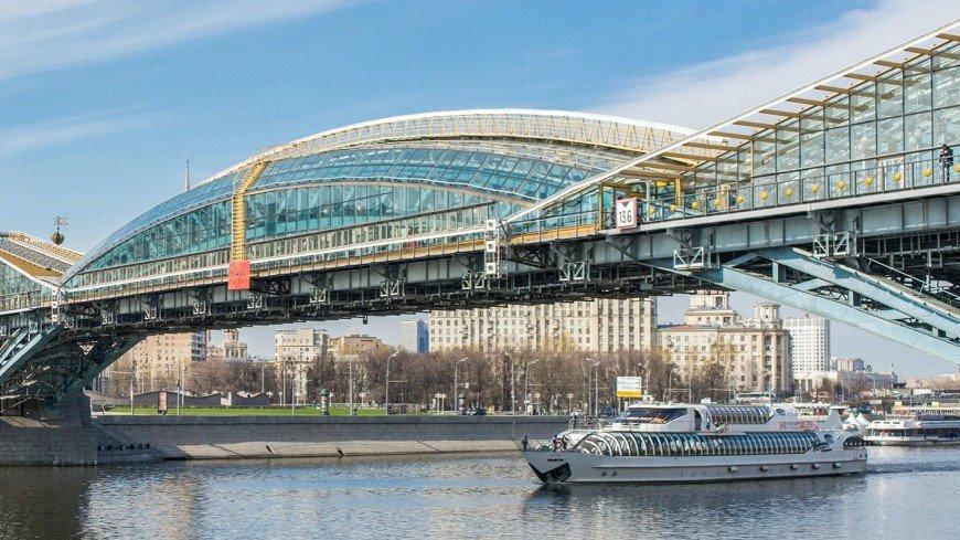 В Москве отремонтируют пешеходный мост Богдана Хмельницкого