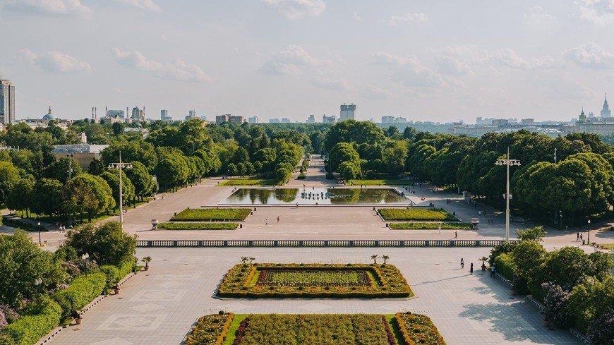 Москвичам рассказали о парках с лучшими панорамными видами