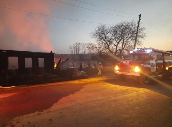 СК: Причиной пожара в Свердловской области мог стать износ электропроводки