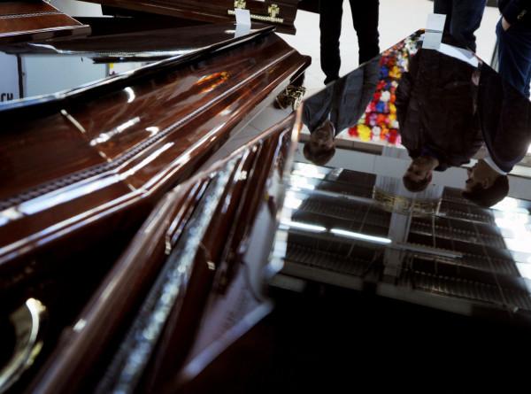 В Мексике кандидат в депутаты начал предвыборную кампанию в гробу