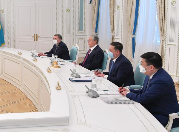 Стратегическое партнерство: Токаев принял министра иностранных дел Венгрии