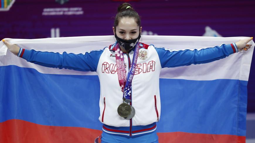 Россиянка Ольга Те завоевала серебро на чемпионате Европы по тяжелой атлетике