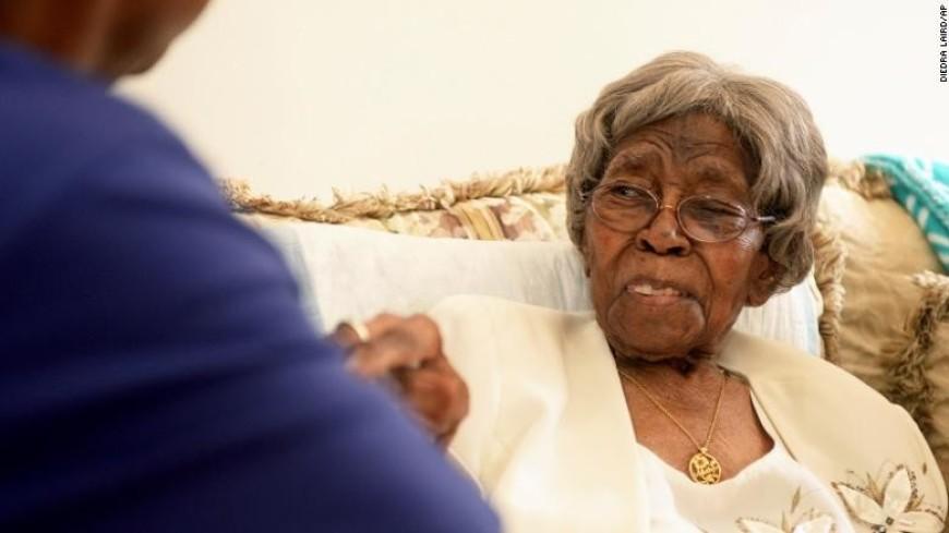 На 117-м году жизни умерла самая старая жительница США