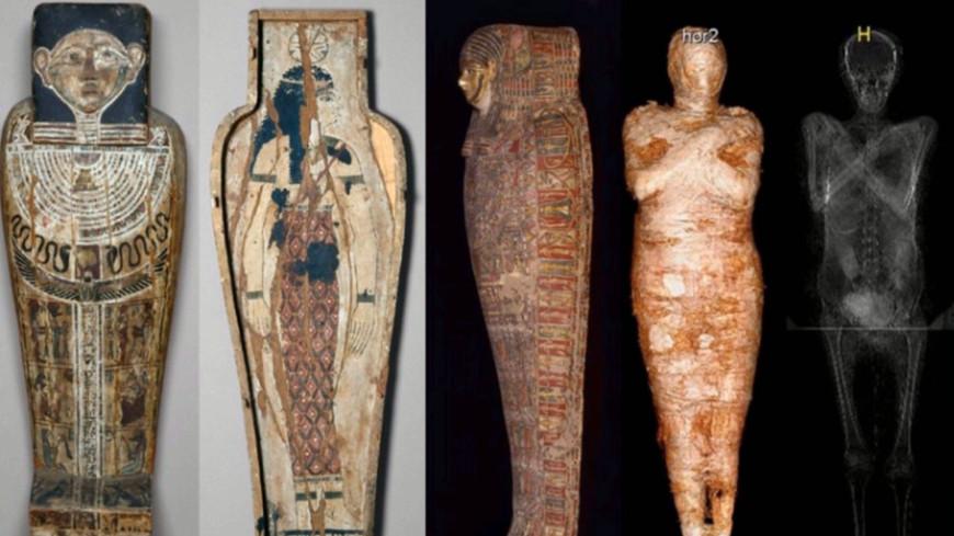 Археологи из Польши нашли первую в мире мумию беременной женщины