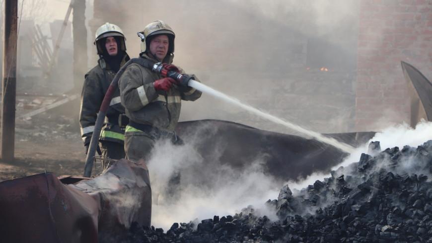 Пожар в здании депо завода «Милорем» под Тамбовом ликвидирован