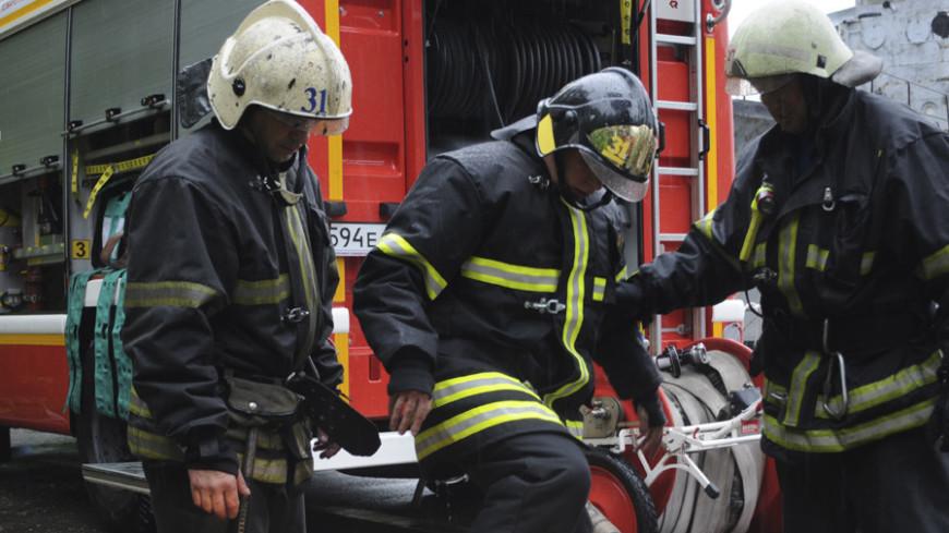 """Фото: Сергей Минеев, """"«МИР 24»"""":http://mir24.tv/, пожарные, учения мчс, мчс, пожар"""