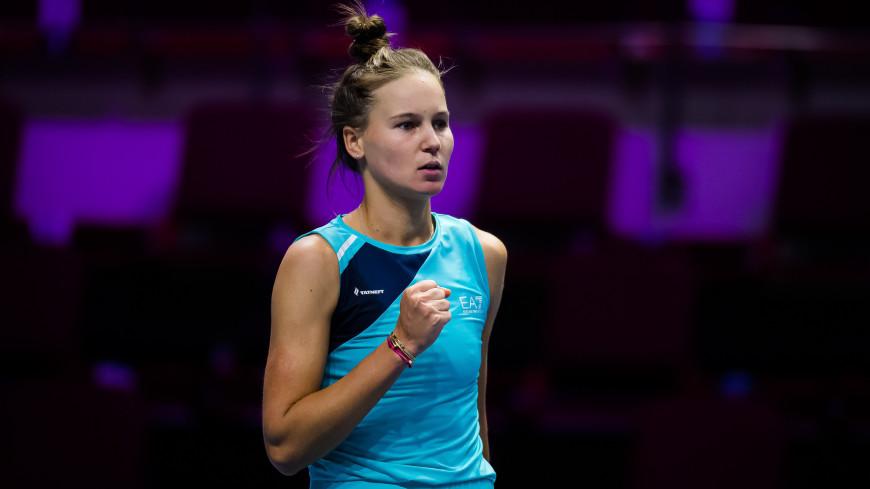 Вероника Кудерметова одержала первую в карьере победу на турнире WTA
