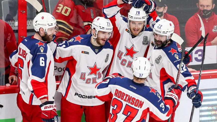 ЦСКА одолел «Авангард» в третьем матче финальной серии Кубка Гагарина