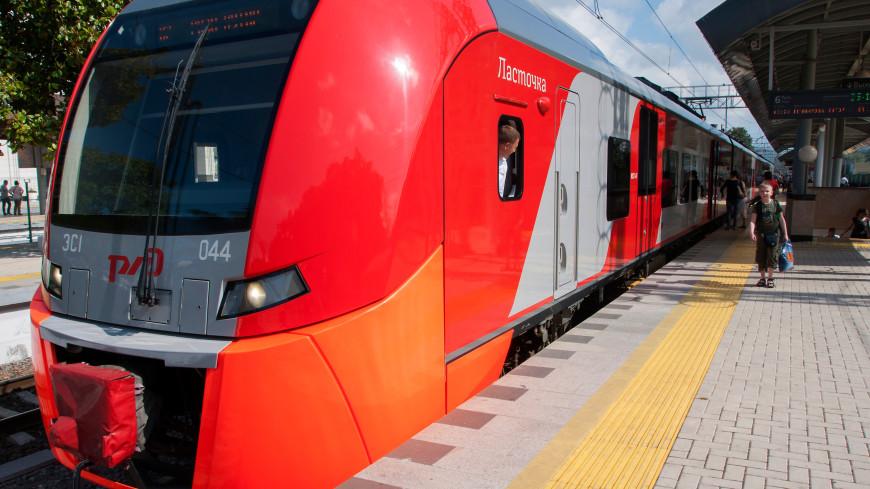Электропоезд «Ласточка» впервые начнет курсировать между Москвой и Минском