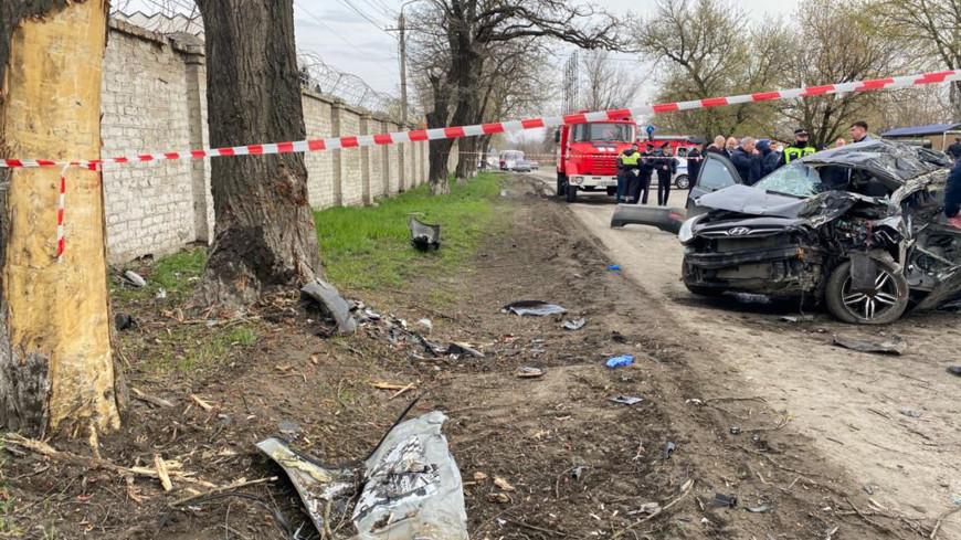 СКР будет расследовать дело о ДТП в Ростовской области, где погибли пятеро подростков