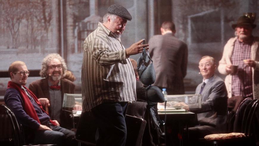 Михалков – в Большом: редиссер представил свой новый спектакль «12»