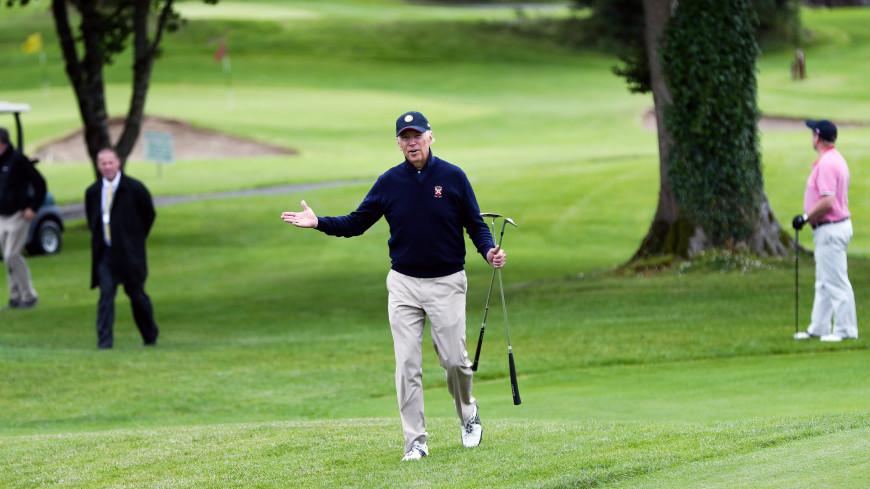 Байден в первый раз на посту президента США сыграл в гольф
