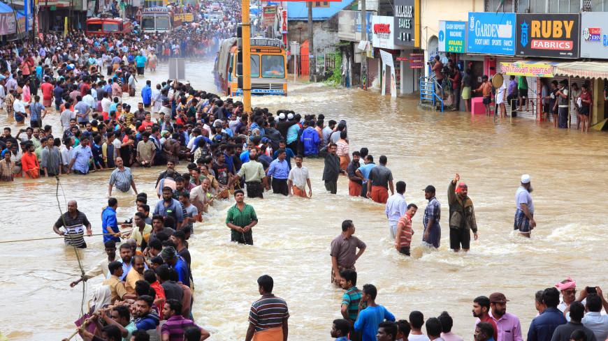 Индии предрекли наводнения из-за муссонов
