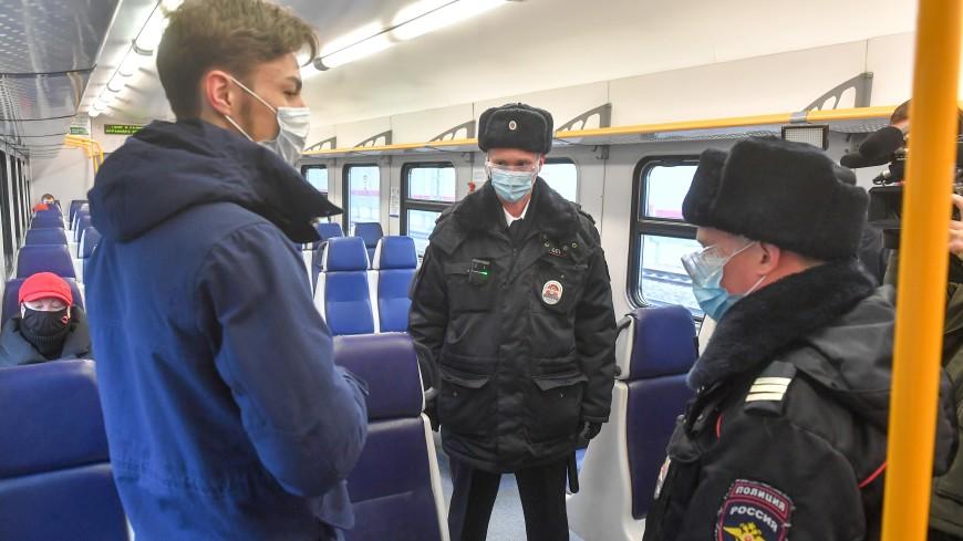 Москвичи в апреле нарушили масочный режим в транспорте более 30 тысяч раз