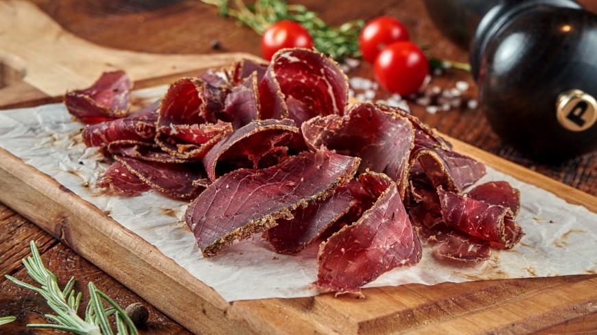 Вяленое мясо признали опасным для гипертоников