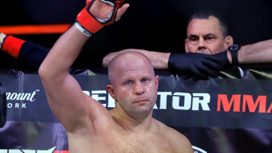 Bellator предложила Федору Емельяненко кандидатуры соперников на следующий бой