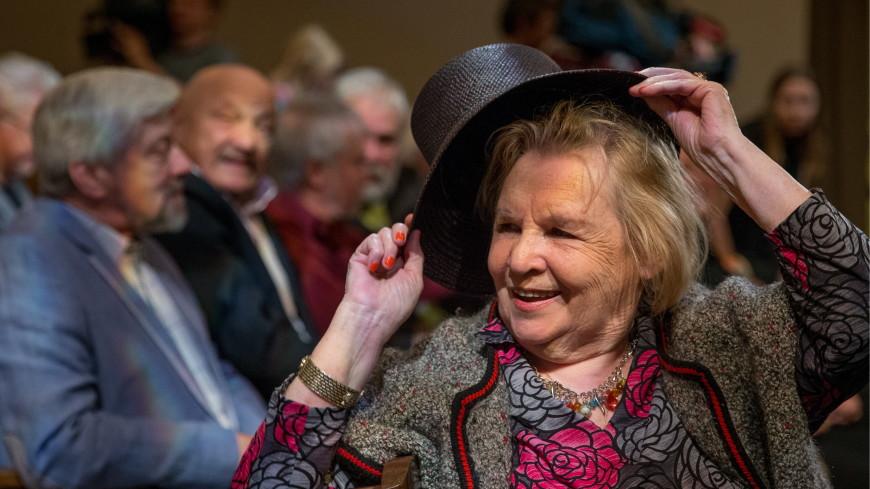 Актриса Нина Гуляева отмечает 90-летний юбилей