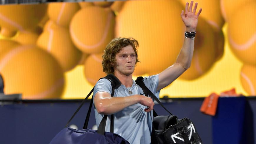 Андрей Рублев проиграл Стефанову Циципасу в финале турнира в Монте-Карло