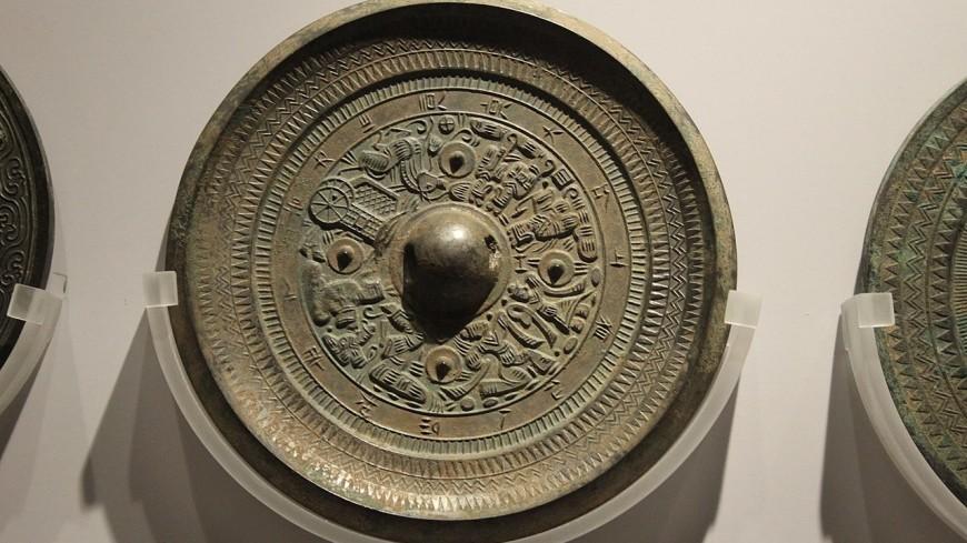 В Китае нашли старинные зеркала для загробного мира