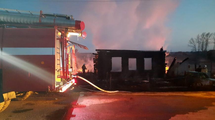 В округе Свердловской области, где при пожаре погибли дети, объявлен траур
