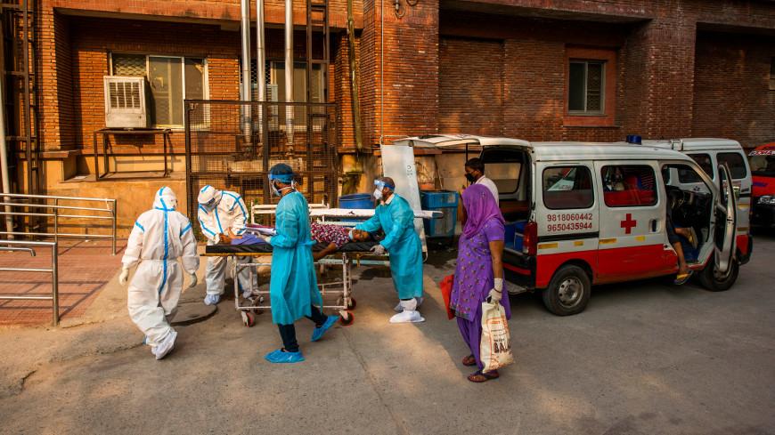 Индия установила новый антирекорд по приросту случаев COVID-19