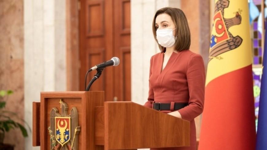 Санду планирует визит в Россию после улучшения эпидемической ситуации