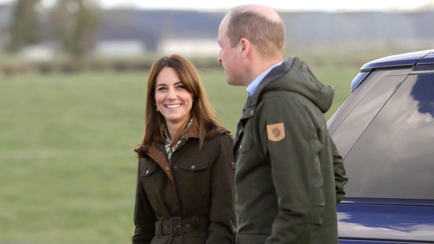 Синий Range Rover Кейт Миддлтон и принца Уильяма продадут на аукционе
