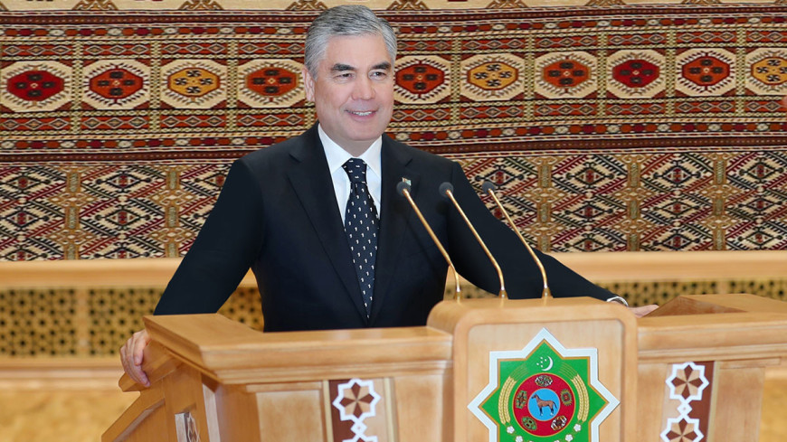 Гурбангулы Бердымухамедов возглавил верхнюю палату парламента Туркменистана