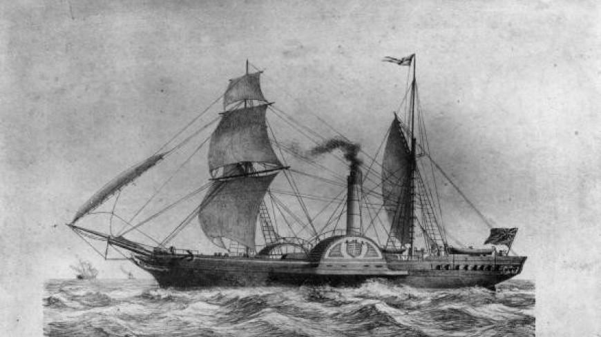 Через Атлантику без остановок: 183 года назад пароход «Сириус» впервые пересек океан